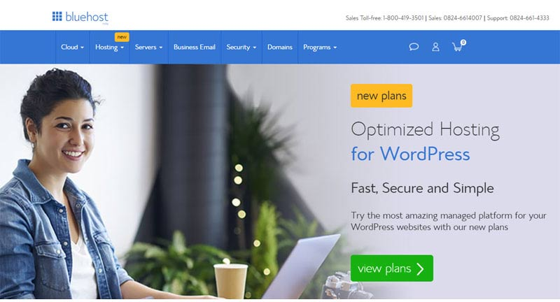 low cost wordpress hosting company