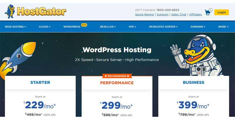 find web designer hosting services