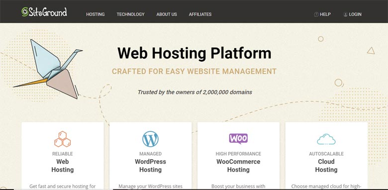 siteground bluehost similar competitors