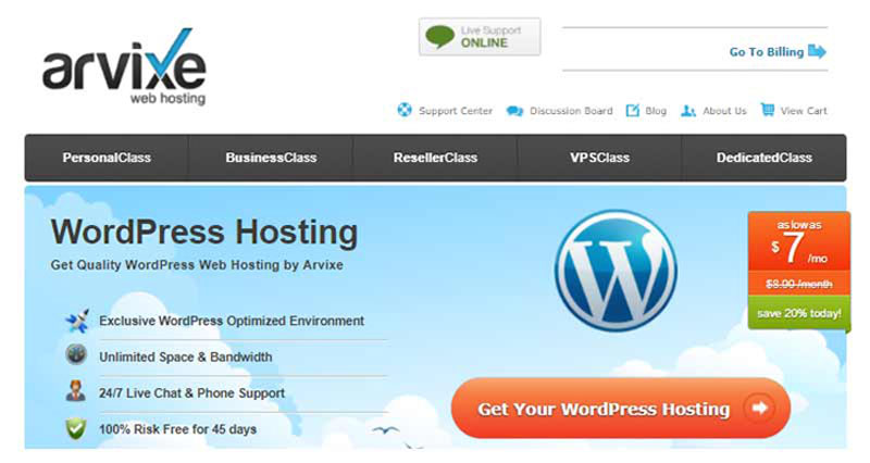 best web designer wordpress hosting services