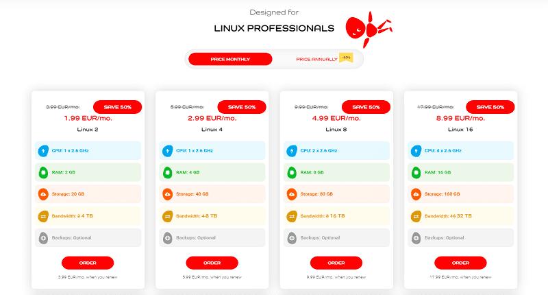 time4vps linux hosting