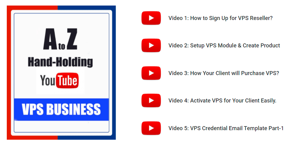video series to start vps reseller business